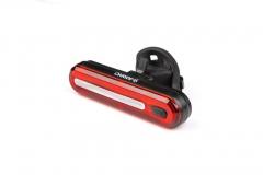 Мигалка задня ONRIDE Inferno 20 USB габаритне світло чорний корпус