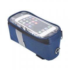 Сумка під смартфон на раму Sahoo синя, об'єм 1 л