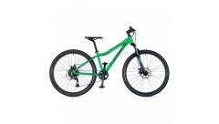 """Велосипед AUTHOR (2019) A-Matrix 26 """"D, рама 13,5"""", колір-зелений (блакитний) // чорний"""