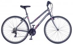 """Велосипед AUTHOR (2018) Thema 28 """", рама 17"""", колір-сірий (фіолетовий) // сірий"""