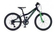 """Велосипед AUTHOR (2019) Smart 20"""", рама 10"""", колір-чорний // зелений"""