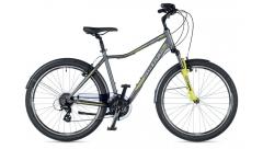 """Велосипед міський AUTHOR (2019) Rapid 26 """", рама 19"""", колір-графітовий (жовто-зелений) // жовто-зелений"""