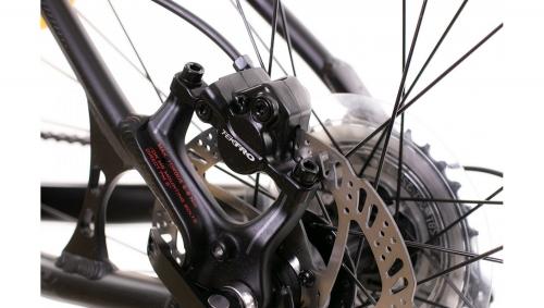 """Велосипед AUTHOR (2019) Impulse II 27.5 """", рама 15"""", колір-чорний (червоний) // чорний"""