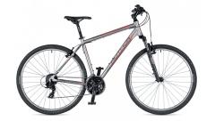 """Велосипед AUTHOR (2019) Horizon 29 """", рама 18"""", колір-сріблястий (червоний) // чорний"""