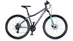 """Велосипед AUTHOR (2019) Impulse ASL 27.5"""", рама 18"""", цвет-графитовый (фиолетовый)"""