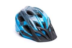 Шолом ONRIDE Rider глянцевий сірий/блакитний (Дитячий)