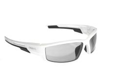 Сонцезахисні окуляри Onride Point матові білі РС лінзи димчаті категорії 1