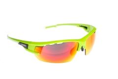 Сонцезахисні окуляри Onride Lead матові зелені РС лінзи димчаті+Revo червоні категорії 3; змінні лінзи