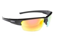 Сонцезахисні окуляри Onride Spok матові чорні РС лінзи димчаті+Revo червоні 3; змінні лінзи категорії