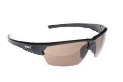 Сонцезахисні окуляри Onride Spok матові чорні носоупори чорніРС лінзи коричневі категорії 3