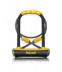 Скоба U-Lock ONGUARD Pitbull DT 115 x 230мм + кабель 120см х 10мм