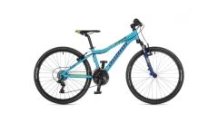 """Велосипед AUTHOR (2021) A-Matrix 24"""", рама 12,5"""", колір-блакитний // темно синій"""