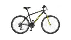 """Велосипед AUTHOR (2021) Outset 26"""", рама 15""""-17"""", колір-сірий // неоново жовтий"""