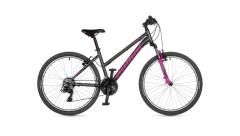 """Велосипед AUTHOR (2021) Unica 26"""", рама 16""""-18"""", колір-сірий // рожевий"""