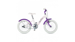 "Велосипед AUTHOR Bello II 16"",(18) колір - білий-фіолет, рама 9"""