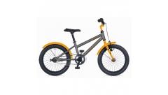 """Велосипед AUTHOR Orbit II 16"""", (2018) колір-сірий-помаранчевий, рама 9"""