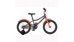 """Велосипед AUTHOR Orbit II 16"""",(2020) рама 9"""", колір-сірий-помаранчевий"""