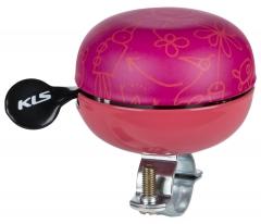 Дзвоник на руль KLS Bell 60 рожевий