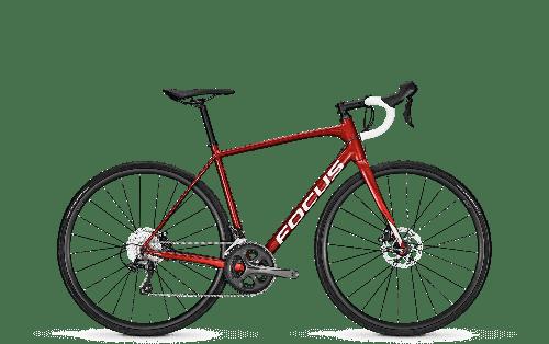 "Велосипед шосейний Focus Paralane AL Tiagra 20G 28"" 54/M (Wine Red, M)"