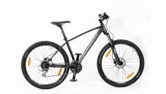 """Велосипед AUTHOR (2019) Impulse II 27.5 """", рама 17"""", колір-чорний (червоний) // чорний"""