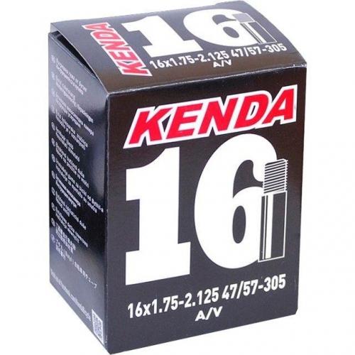 """Велосипедна камера Kenda 16"""" 1,75-2,125 AV"""