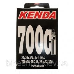 Камера Kenda 700х18-25C, ніпель FV48 мм
