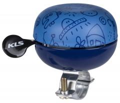 Дзвоник на руль KLS Bell 60 синій