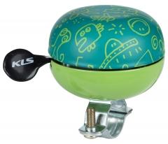 Дзвоник на руль KLS Bell 60 зелений
