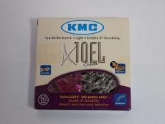 Ланцюг KMC X10EL-1 NP-NP, 10 швидкостей 114 лінків, сріблястий