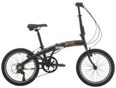 """Велосипед  Pride MINI 6 20"""" темно-зелений 2020"""