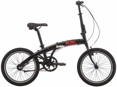 """Велосипед  Pride MINI 3 20"""" чорний-червон. 2020"""