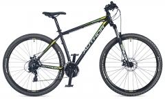 """Велосипед AUTHOR (2018) Rival 29 """", рама 19"""", колір-чорний (зелено жовтий) // чорний"""
