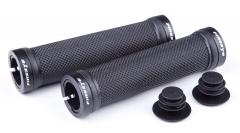 Ручки руля FireEye Goosebumps-R 128 мм з замками чорний