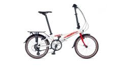 Велосипед AUTHOR (2021) Simplex рама M, колір- білий-черв-сріблястий