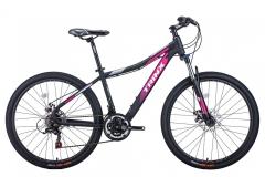 """Велосипед жіночий Trinx N106, 15.5"""" 2021чорно-рожевий"""