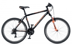 "Велосипед AUTHOR (2019) Outset 26 "",чорний (неоново помаранчевий)"