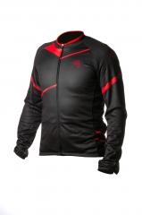 Велокуртка ONRIDE SHELL колір чорно-червоний