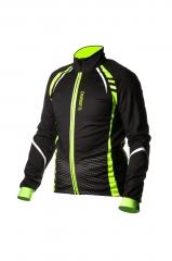 Велокуртка ONRIDE BARK колір чорно-зелений