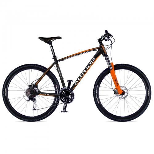 Велосипед AUTHOR (2018) Pegas 27.5, рама 19,колір-чорний-помаранчевий