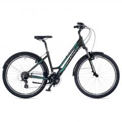 """Велосипед AUTHOR (2018) Victoria 26"""", рама 18"""", колір сірий (зелений)"""