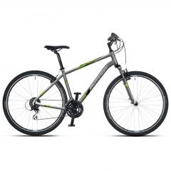 """Велосипед AUTHOR (2018) Compact 28"""", рама 20""""., колір-сірий (зелений)"""