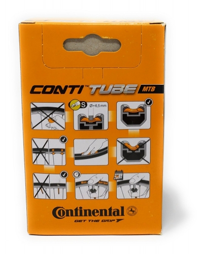 Шосейна камера Continental Race Presta Extra Long Valve 60mm 700c Inner Tube - Black, 28